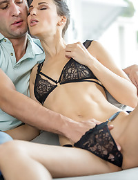 Beautiful Kai, who looks like a Hawaiian Princess mixed wth a French model, is meeting up with her old boyfriend, Lilu. For the occasion she's put on her finest sexy lingerie. Clearly, she has something naughty in mind for their reunion. Not one to wait, she invites him in and quickly gets busy stripping and getting him hard and horny. Kai loves to show off her body, and the party starts with lots of open-legged pussy licking and fingering. But she also loves to suck cock and get it from behind, and that's where things end up. This film is so genuine and erotic...there is a pure energy between the performers...you're about to have the time of your life.