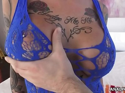 Savage anal ride with Anna Bell Peaks