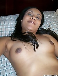 Horny slut girlfriend takes selfshot pictures for her boyfriend who shares them with us
