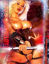 Exklusive Actiongirls 2012 Web Poster Deluxe Serie 3 Fotos Actiongirls.com