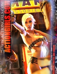 Exklusive Actiongirls Web Poster 2012 Serie 2 Fotos Actiongirls.com