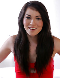 Brunette coed Emily Grey opens about her sexual kinks her hopes for the future and her private life