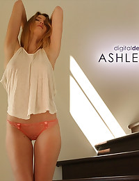 Ashley Lane drops her panties shows us what she's got