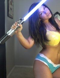The force is definitely with Victoria Raye