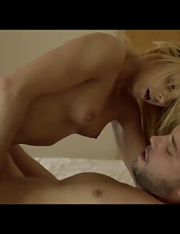 Petite blonde firecracker Chiki Dulce gives everything to her man in a raunchy fuck fest between two horny lovers