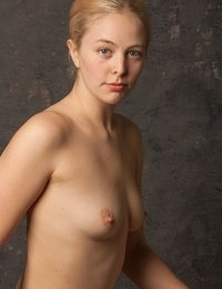"""Looking like she's sitting for a Vermeer painting, Mae is back with some very artistic studies in the California studio. This first series is comprised of small variations in posing as we attempted to capture that classic painterly feel - resulting in what I think is the best example, used for our cover shot.  You can also see  a href""""http:www.ebay.comitmFine-Art-Nude-Photo-signed-8-5x11-fiber-print-by-Craig-Morey-Mae-9755-151907325298?ssPageNameSTRK:MESE:IT""""that shot listed in my ebay storea (ask for your 10% member discount if you'd like a hand-signed print)  The video team tells me we may have some video footage from this session, so we'll try to get that clip posted later this week."""