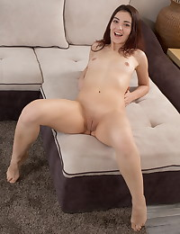 Hot brunette toys both her pussy and ass photo #7