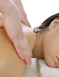 :: Team Skeet .com Presents: RubATeen.com.. featuring Sasha in Beautiful Teen Loves Soothing Massage Fuck :: photo #1