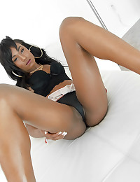 Hot young black girl slithers and gyrates like a snake photo #16