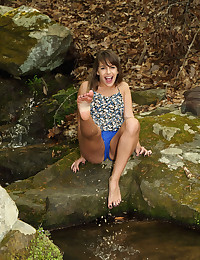 BABBLING BROOK with Kimmy Granger - ALS Scan photo #3