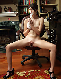 SLOW STRIP with Emily Grey - ALS Scan photo #12
