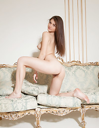 Nude brunette perfection photo #11