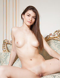 Nude brunette perfection photo #10