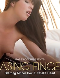 Nude Pics Of Amber Cox, Natalie Heart In Teasing Fingers - Babes.com photo #10