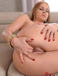 Sexy Female Exec Masturbates photo #12