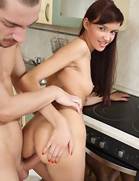 Skinny teen craves for sex photo #14