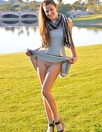 Danielle FTV Carlie Christmas Sunset - DanielleFTV.com photo #1