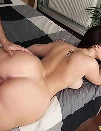 MikesApartment  - Paige Turnah Lucky you Sexy European petite babe juicy ass goes Euro Amatuer photo #12