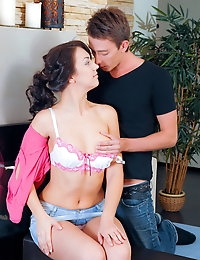 Hot cum dripping from beautiful teen pussy photo #3